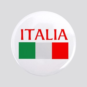 ITALIA FLAG Button