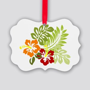 Hibiscus Dreams Picture Ornament