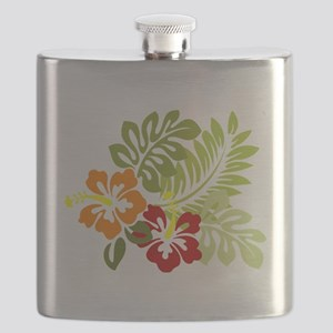 Hibiscus Dreams Flask