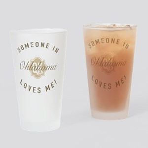 Someone In Oklahoma Drinking Glass