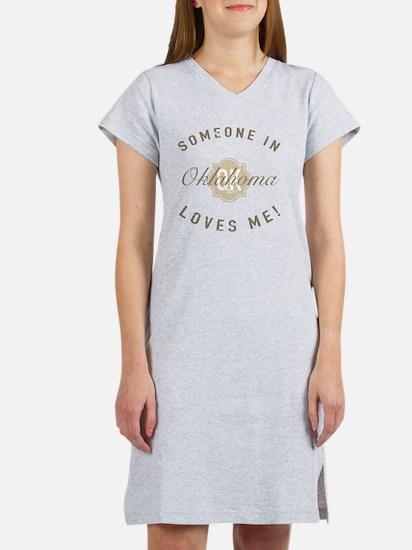 Someone In Oklahoma Women's Nightshirt
