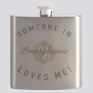 Someone In Pennsylvania Flask