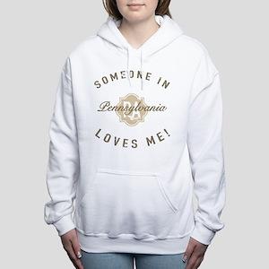 Someone In Pennsylvania Women's Hooded Sweatshirt