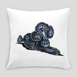 Black Mini Lay Pretty Everyday Pillow
