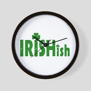 IRISHish - Somewhat Irish Wall Clock