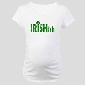 IRISHish - Somewhat Irish Maternity T-Shirt