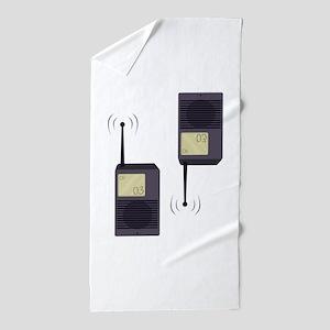 Walkie-Talkie Beach Towel