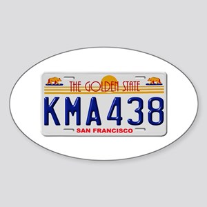 KMA438 San Francisco Sticker