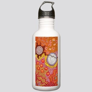 AUSTRALIAN ABORIGINAL ART Water Bottle