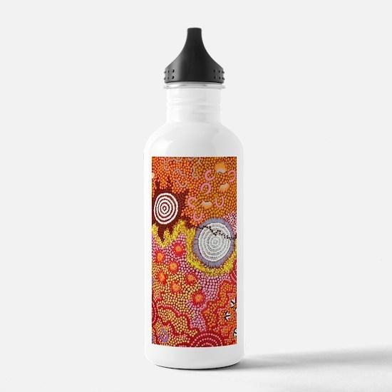 AUSTRALIAN ABORIGINAL ART Water Bottle