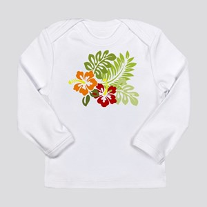Hibiscus Dreams Long Sleeve T-Shirt