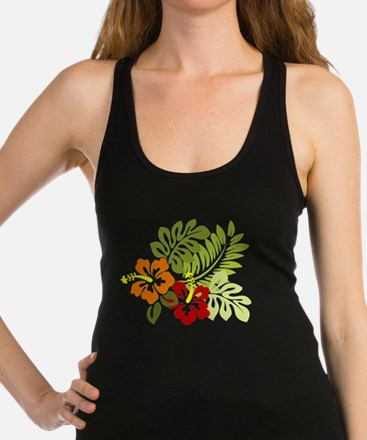 Hibiscus Dreams Racerback Tank Top
