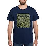 Jesus Fish World Dark T-Shirt