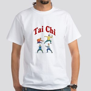 Tai Chi White T-Shirt