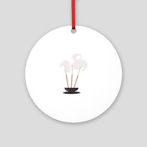 Mind & Sould Incense Sticks Ornament (Round)
