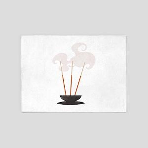 Mind & Sould Incense Sticks 5'x7'Area Rug