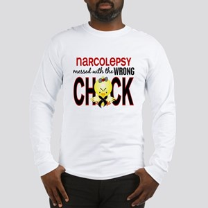 Narcolepsy MessedWithWrongChic Long Sleeve T-Shirt