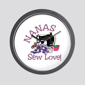 Nanas Wall Clock