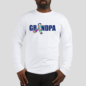Autism Grandpa Long Sleeve T-Shirt