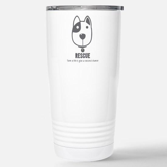 Dog Rescue Travel Mug