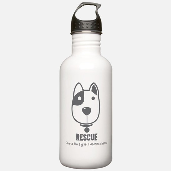 Dog Rescue Water Bottle