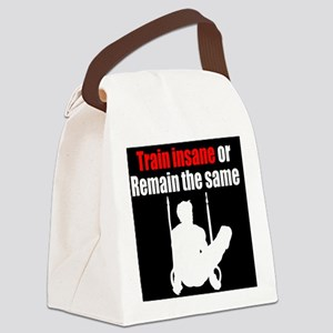 ENERGETIC GYMNAST Canvas Lunch Bag