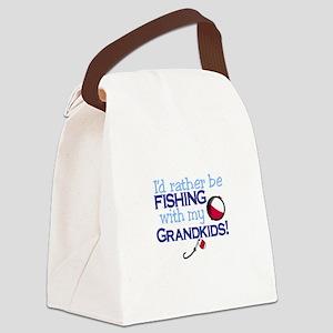 Grandkids Canvas Lunch Bag