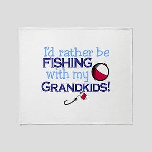 Grandkids Throw Blanket