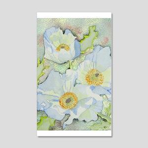 Desert Flower 35x21 Wall Decal