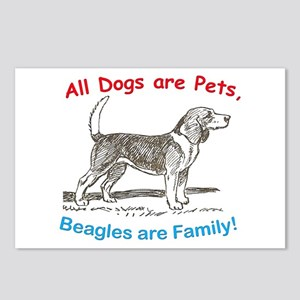 Beagle Beagles Dog Postcards (Package of 8)