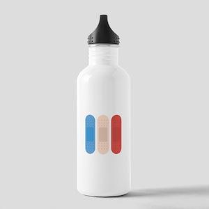 Cut Hurt Heal Bandages Water Bottle