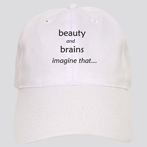Beauty and Brains Cap