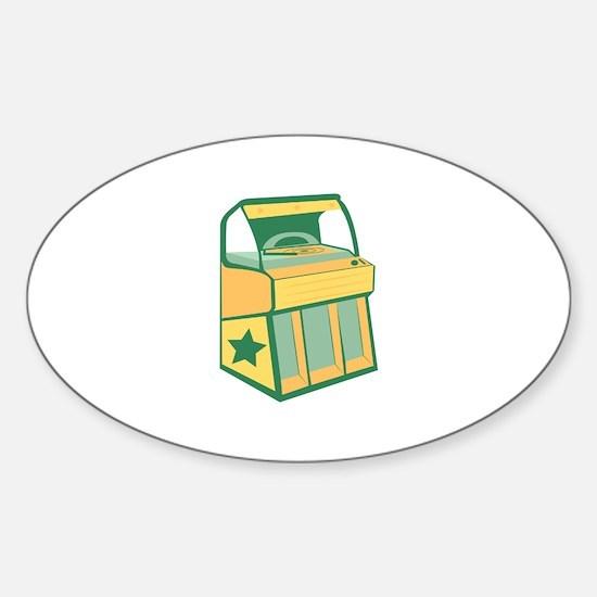 Jukebox Decal