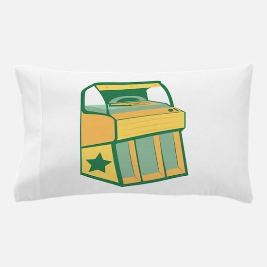 Jukebox Pillow Case
