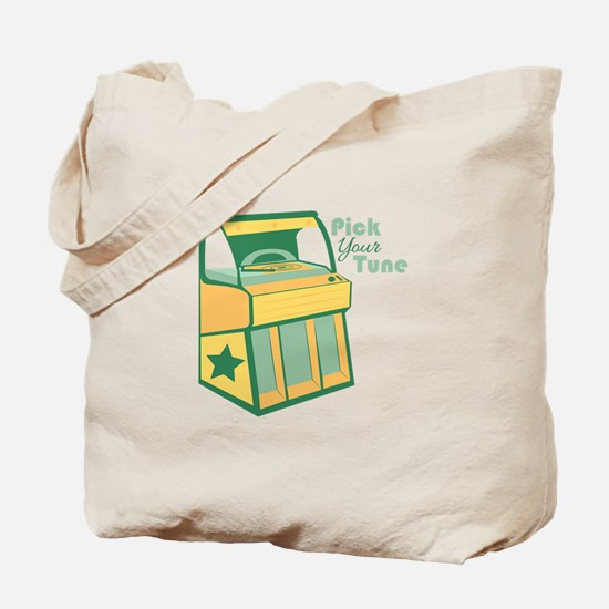 Pick Your Tune Tote Bag