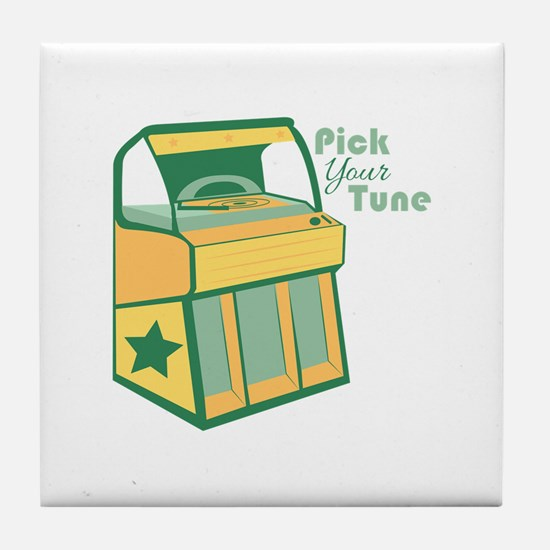 Pick Your Tune Tile Coaster