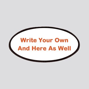 CREATE YOUR OWN GIFT SAYING/MEME Patch