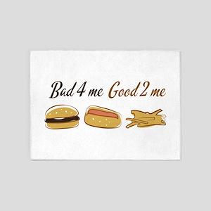 Bad 4 Me Good 2 Me 5'x7'Area Rug