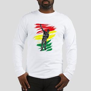 Azonto Movement - Ghana Pride Long Sleeve T-Shirt