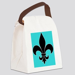 Teal Classic Canvas Lunch Bag