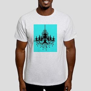 Teal Chandelier  Light T-Shirt