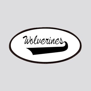 Wolverines Lettering Patch