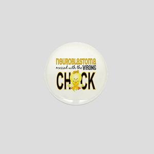 Neuroblastoma MessedWithWrongChick1 Mini Button