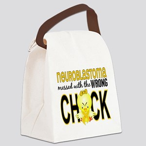 Neuroblastoma MessedWithWrongChic Canvas Lunch Bag