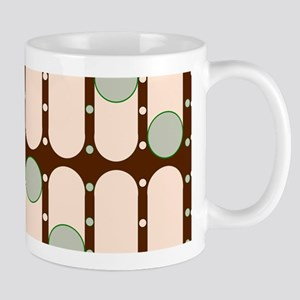 Dripping Dots green Mugs