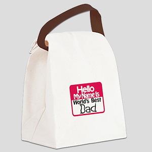 Best Dad Canvas Lunch Bag