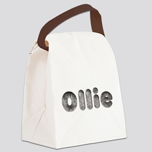 Ollie Wolf Canvas Lunch Bag