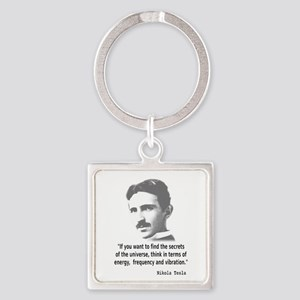 Quote By Nikola Tesla Keychains