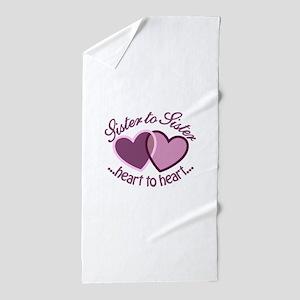 SisterTo Sister Beach Towel