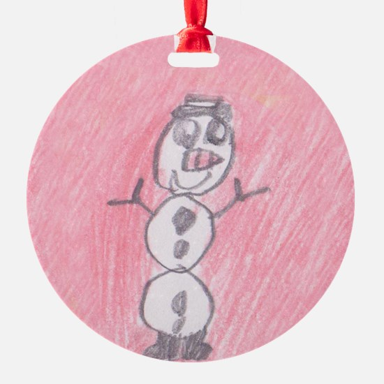 Arwen's Snowman - Ornament